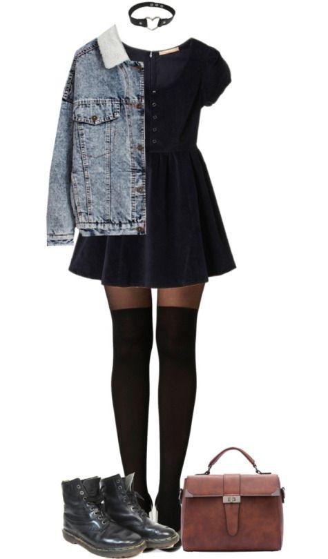 Beautiful clothing ideas grunge dress outfit, fashion accessory, grunge fashion