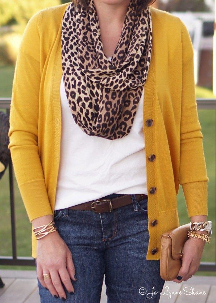 Wear a mustard scarf, fashion accessory, street fashion, casual wear