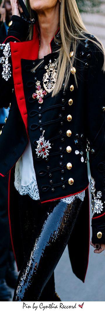Lookbook fashion with formal wear, trousers, uniform