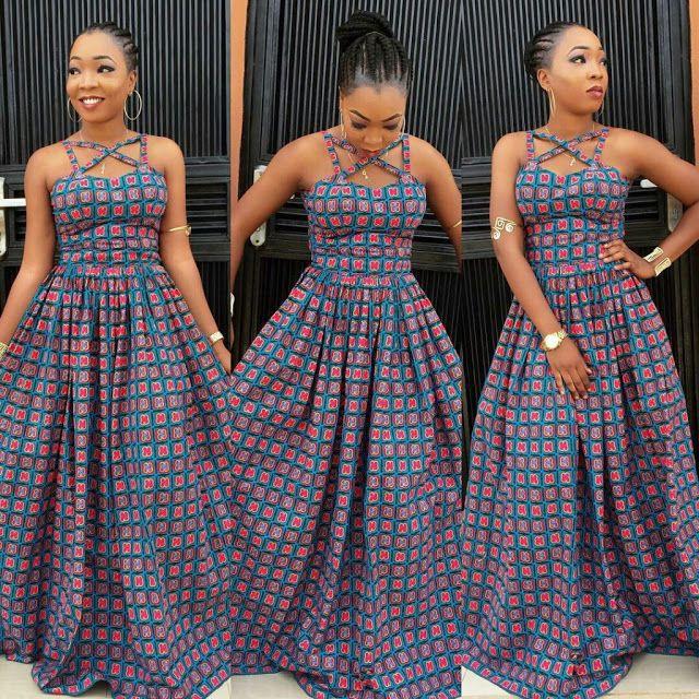 Outfit ideas ankara maxi dresses african wax prints, cocktail dress