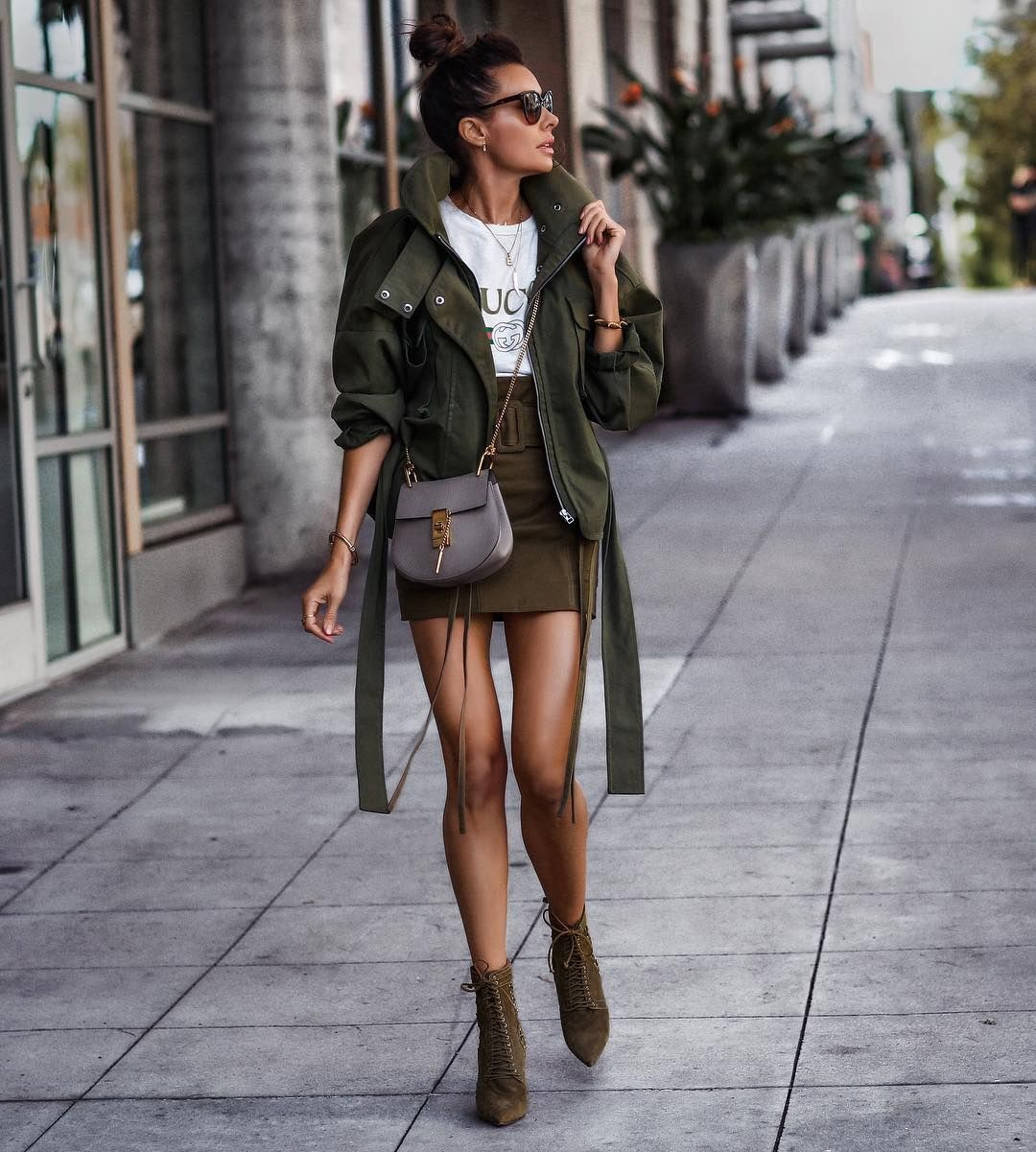 Colour outfit, you must try with miniskirt, shorts, jacket