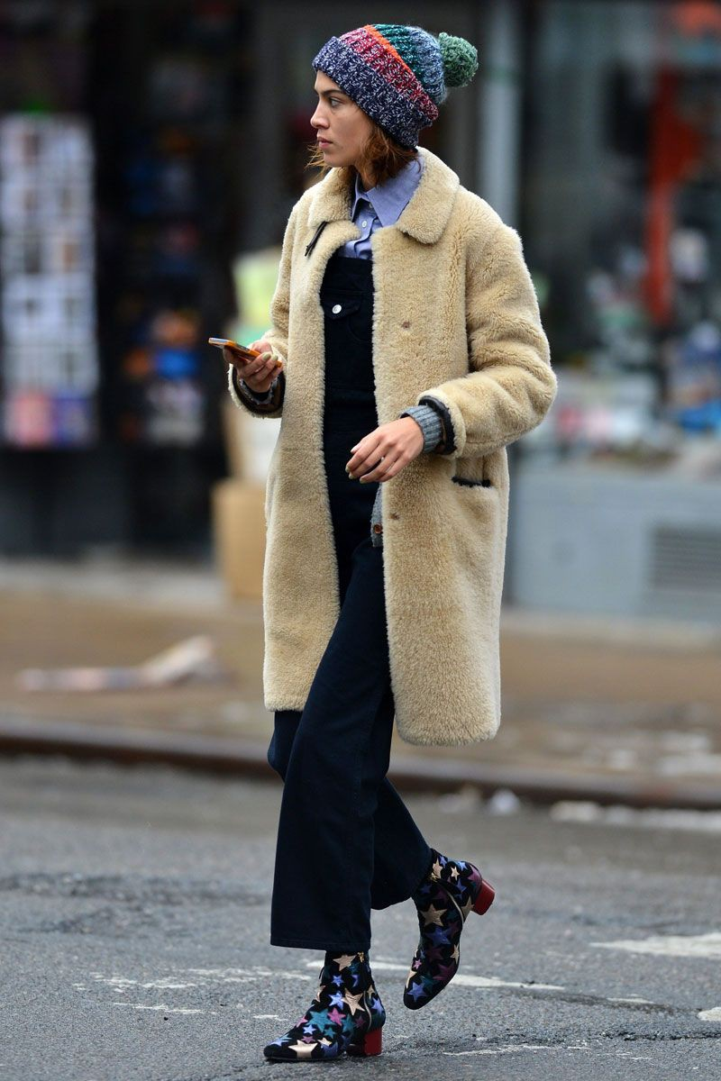 Alexa chung winter style, street fashion, fashion week, alexa chung