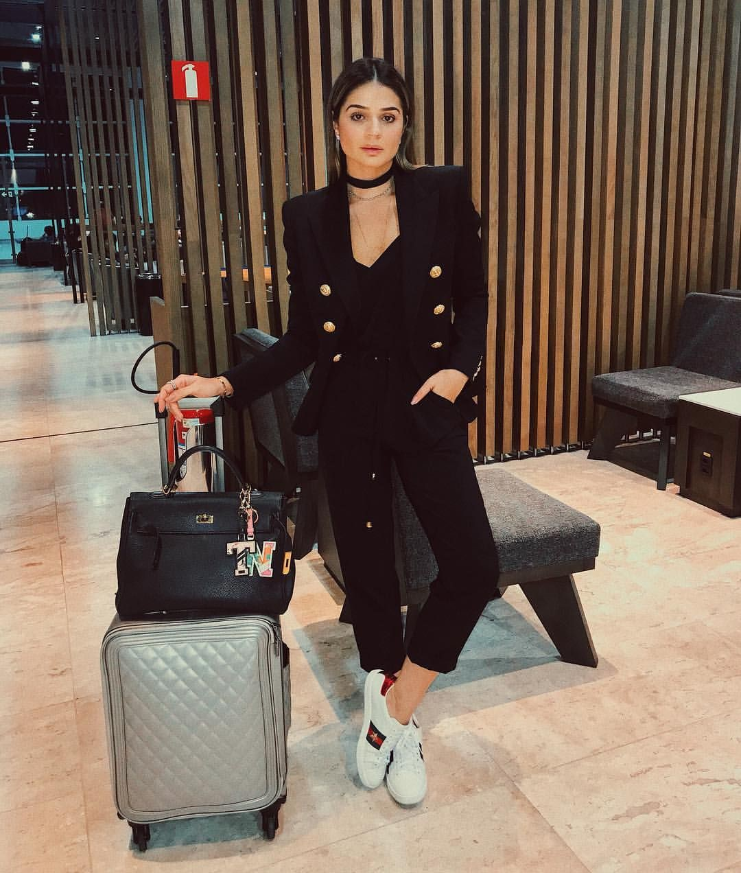 Looks aeroporto thassia naves who what wear, thássia naves
