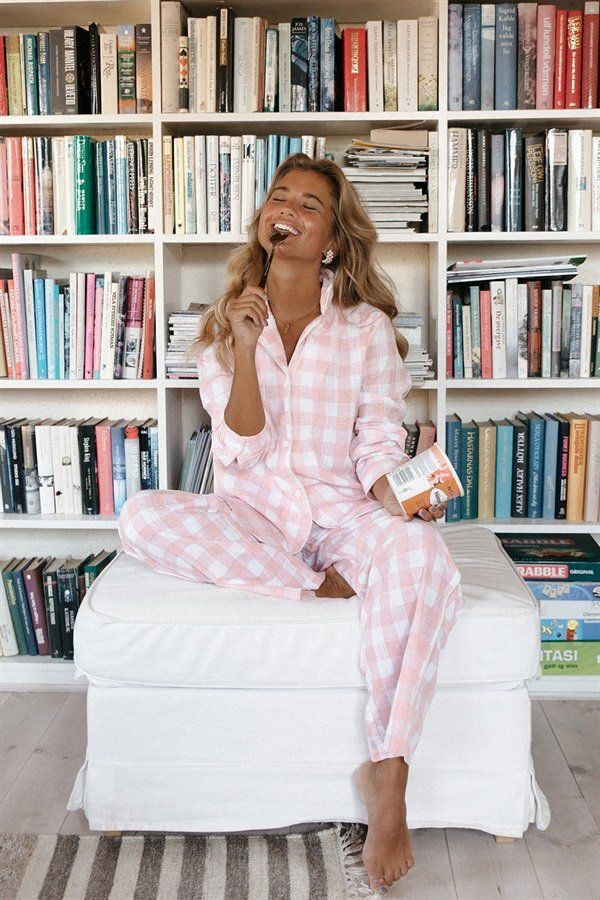 Style outfit sabo skirt pajamas, casual wear, off white, long hair
