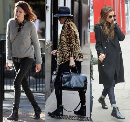 Style womens chelsea boots knee high boot, street fashion