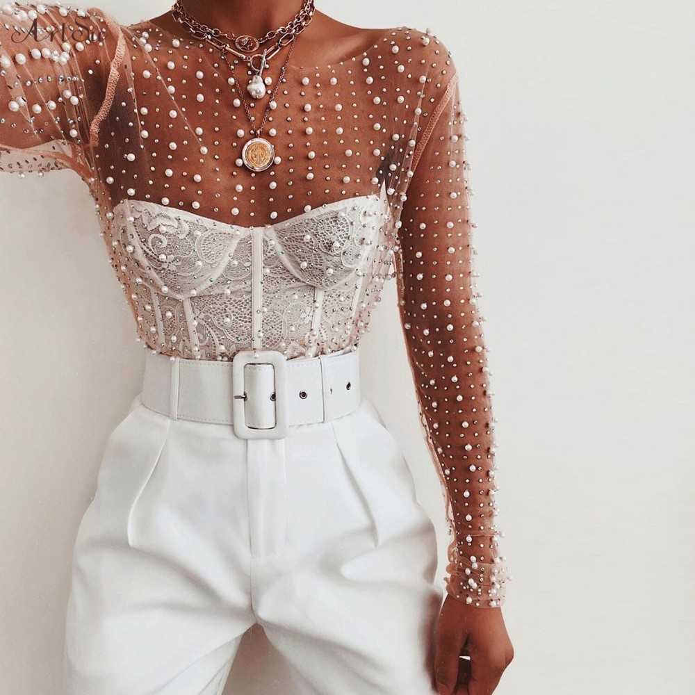White classy outfit with crop top, blouse, skirt
