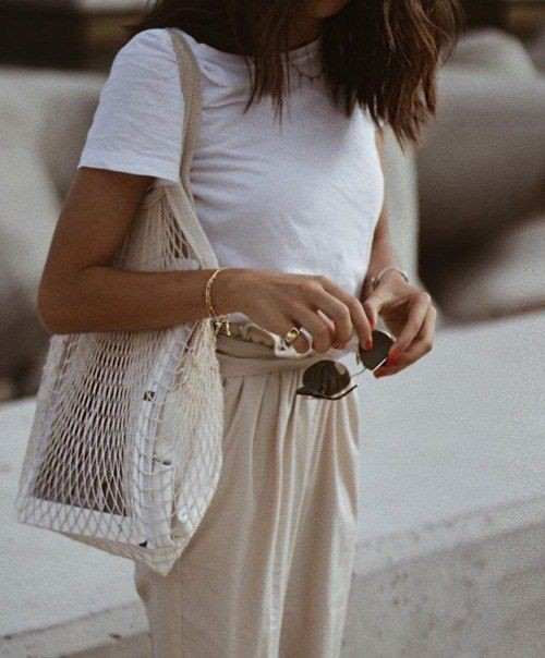 Colour outfit ideas 2020 bolsos red tendencia, fashion accessory, street fashion, string bag, t  ...