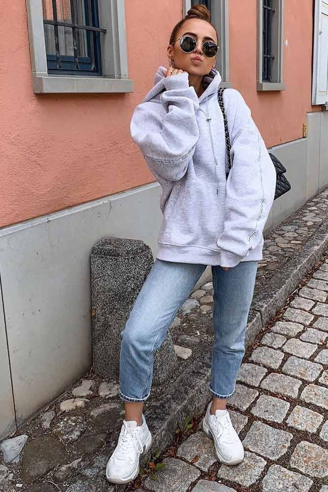 Style outfit cute hoodie outfits, street fashion, casual wear, crop top