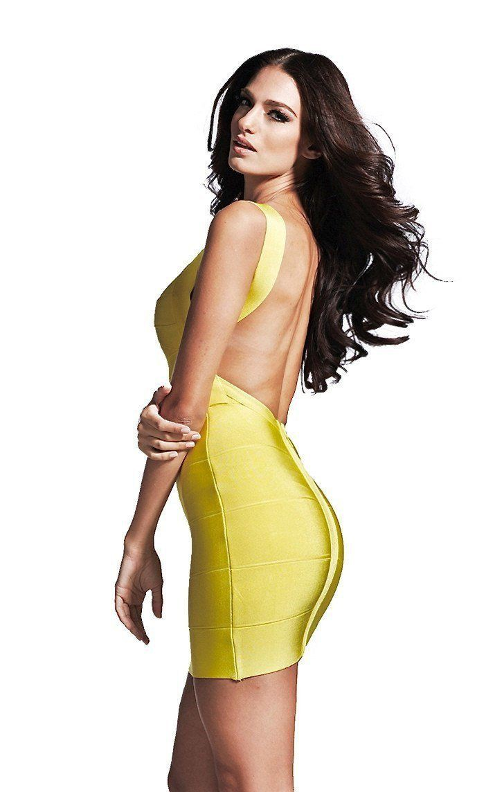 Yellow and green dresses ideas with backless dress, cocktail dress, bandage dress, top