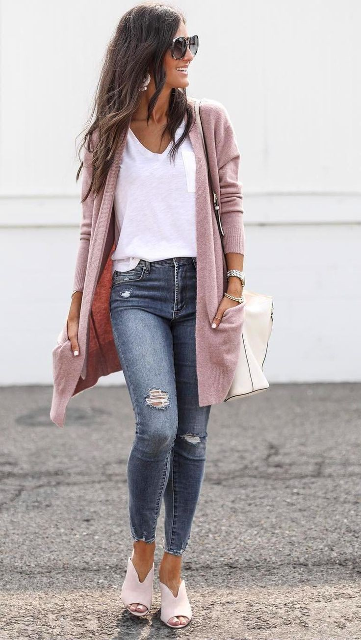 White and pink attire with fashion accessory, blazer, shirt