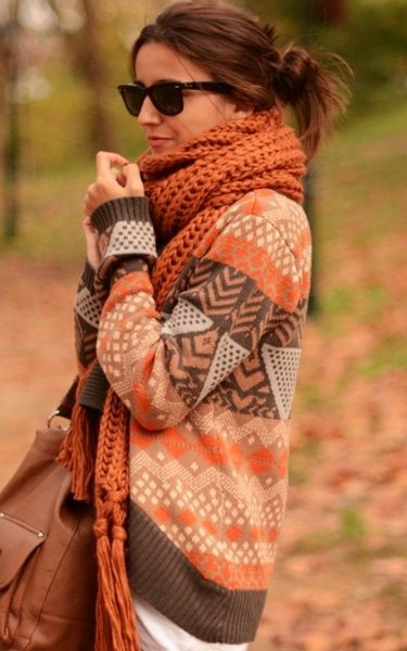 Colour ideas sweater in fall, fashion accessory, street fashion