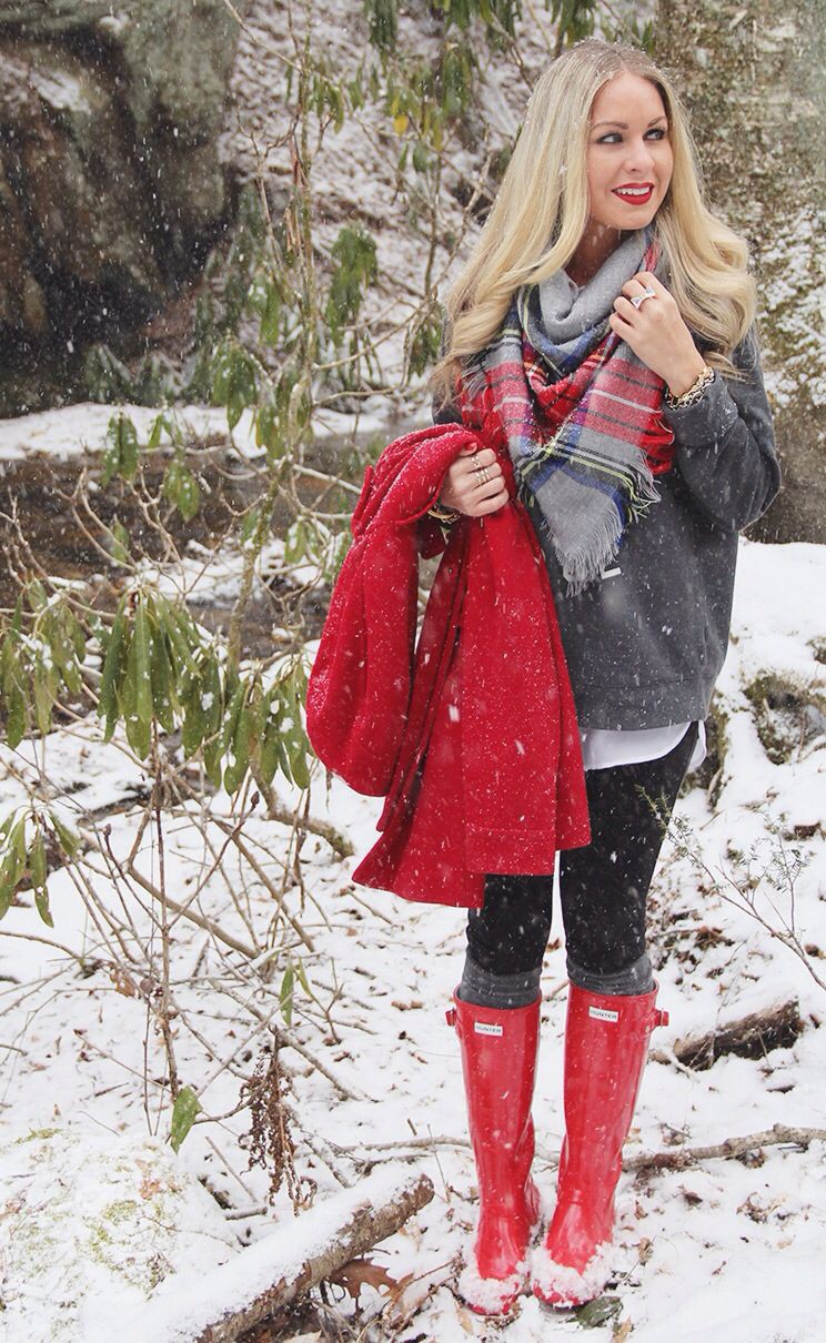 Red hunter boot outfits hunter boot ltd, winter clothing