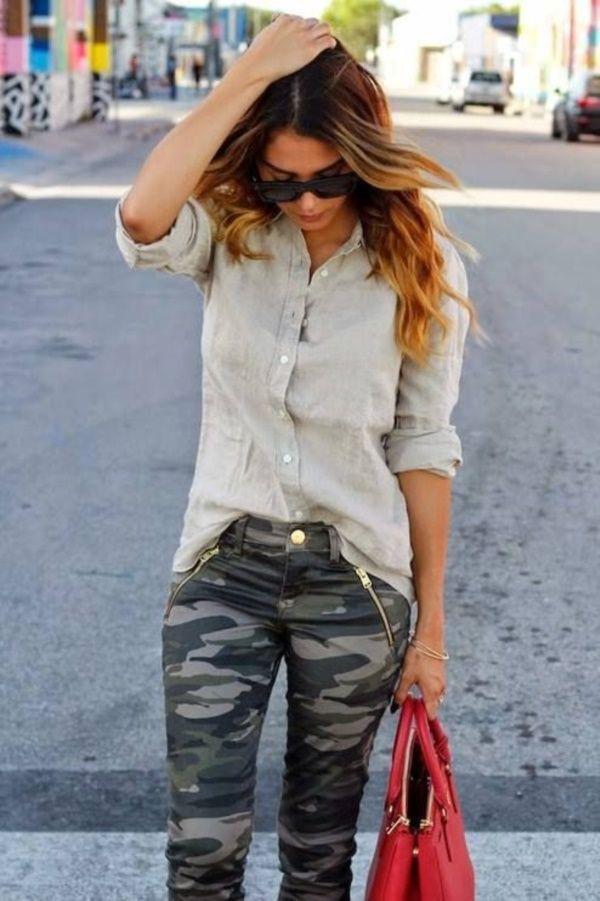 Fashion collection express camo jeans slim fit pants, street fashion