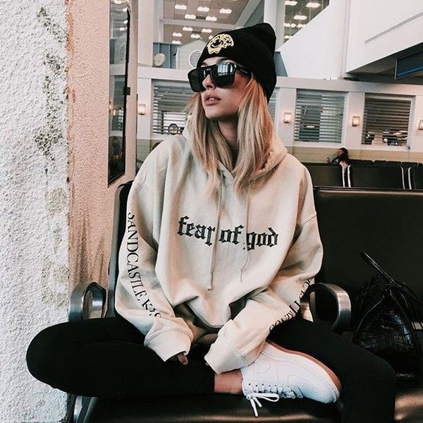 Fear of god sandcastle hoodie