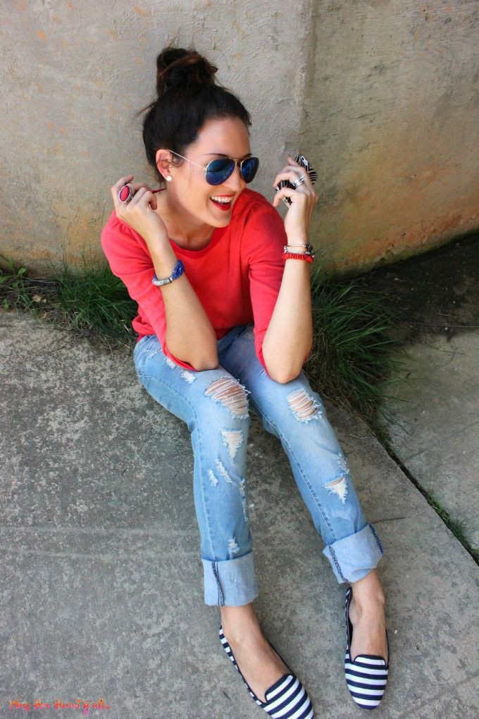 Outfit Pinterest with denim, jeans