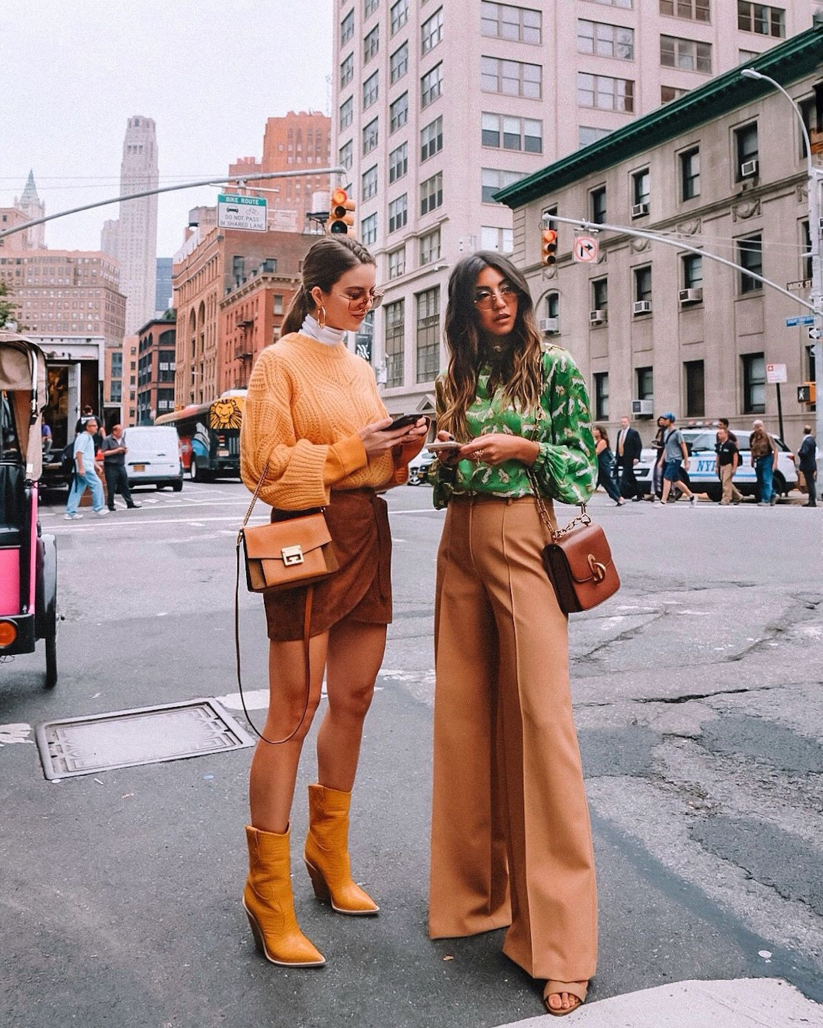 Yellow and orange outfit Pinterest with fur clothing