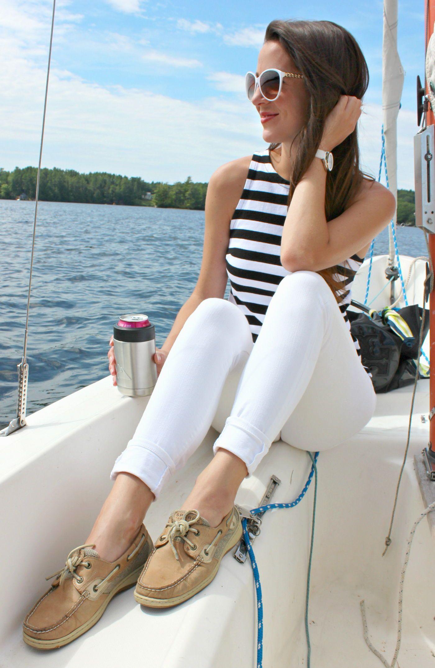 Colour ideas women wearing sperrys sperry top sider, boat shoe