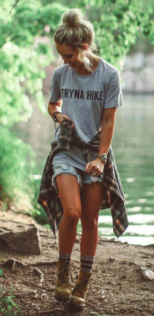 Outfit style with shorts