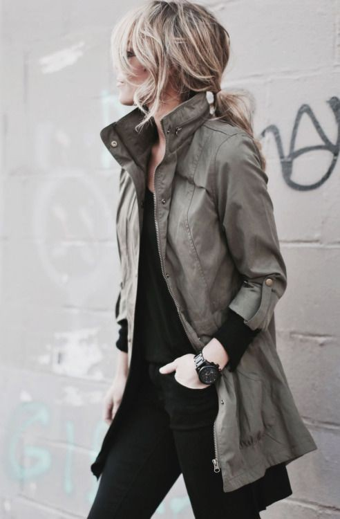 Colour outfit, you must try with leather jacket, trench coat, overcoat