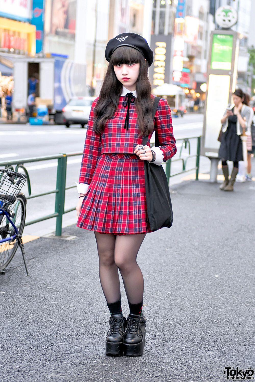 Colour ideas with tartan, skirt