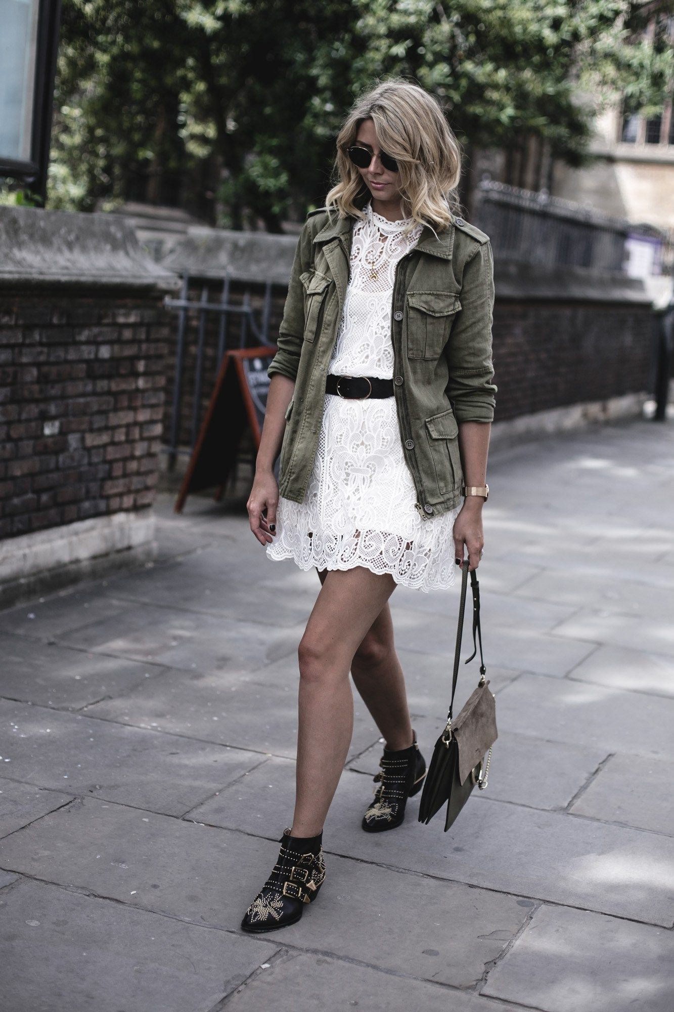Colour combination chloe susanna outfits, street fashion, trench coat