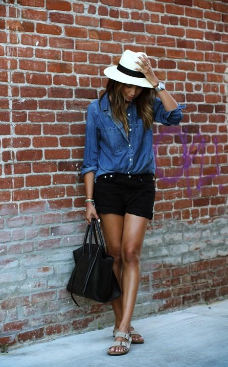 Outfit hersheys chocolate world sun straw hat, street fashion