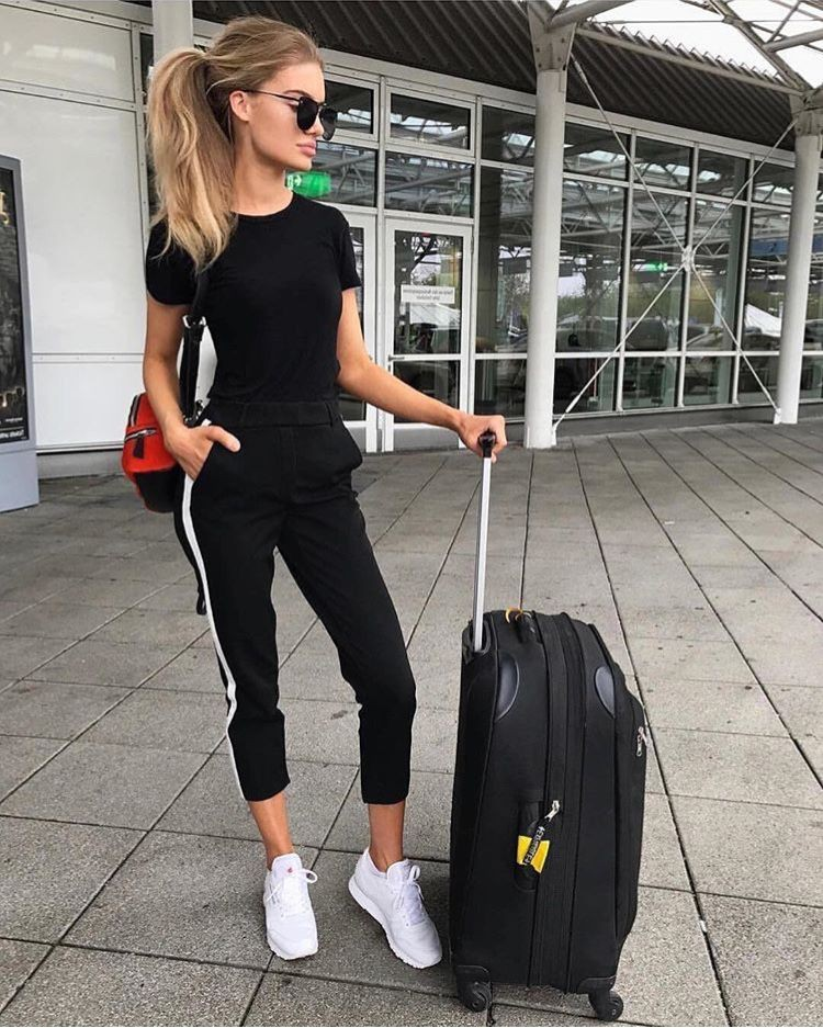 Dresses ideas airport outfits summer, street fashion, active pants, casual wear