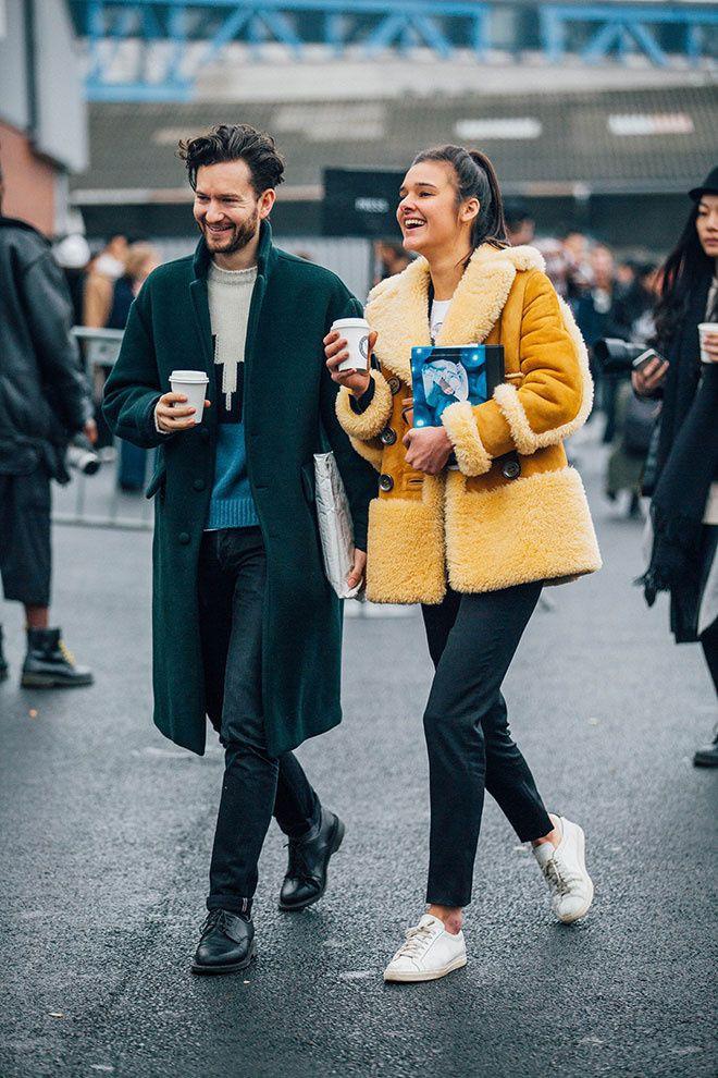 Best couple street style paris fashion week, the sartorialist