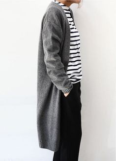 Dresses ideas with sweater vest, trousers, overcoat
