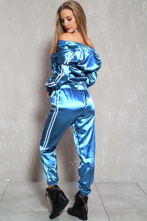 Electric blue and cobalt blue colour ideas with evening gown, trousers, pajamas, jeans