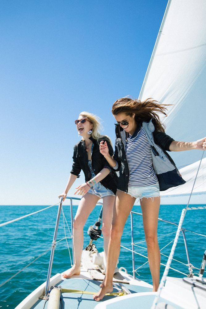 Colour outfit, you must try sailing outfit, luxury yacht, boat shoe