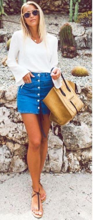 Dresses ideas short denim skirt, pencil skirt, denim skirt, high rise