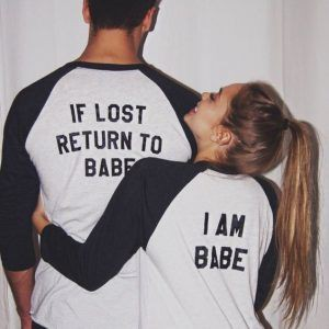 If lost return to babe shirts