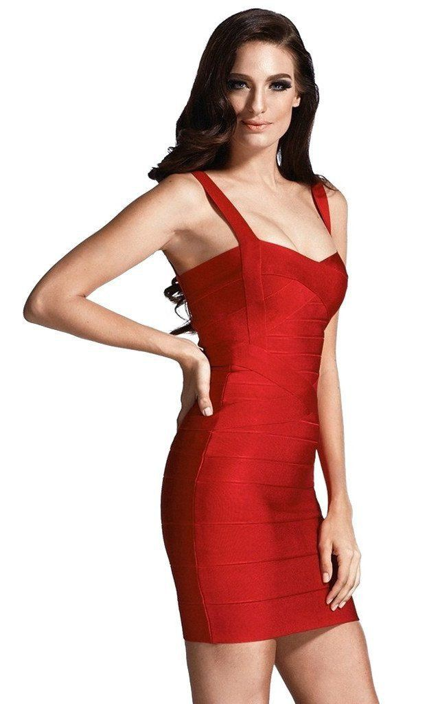 Black and red outfit ideas with backless dress, cocktail dress, bandage dress, day dress