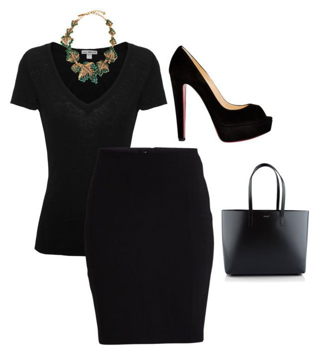Colour outfit, you must try little black dress little black dress, pencil skirt