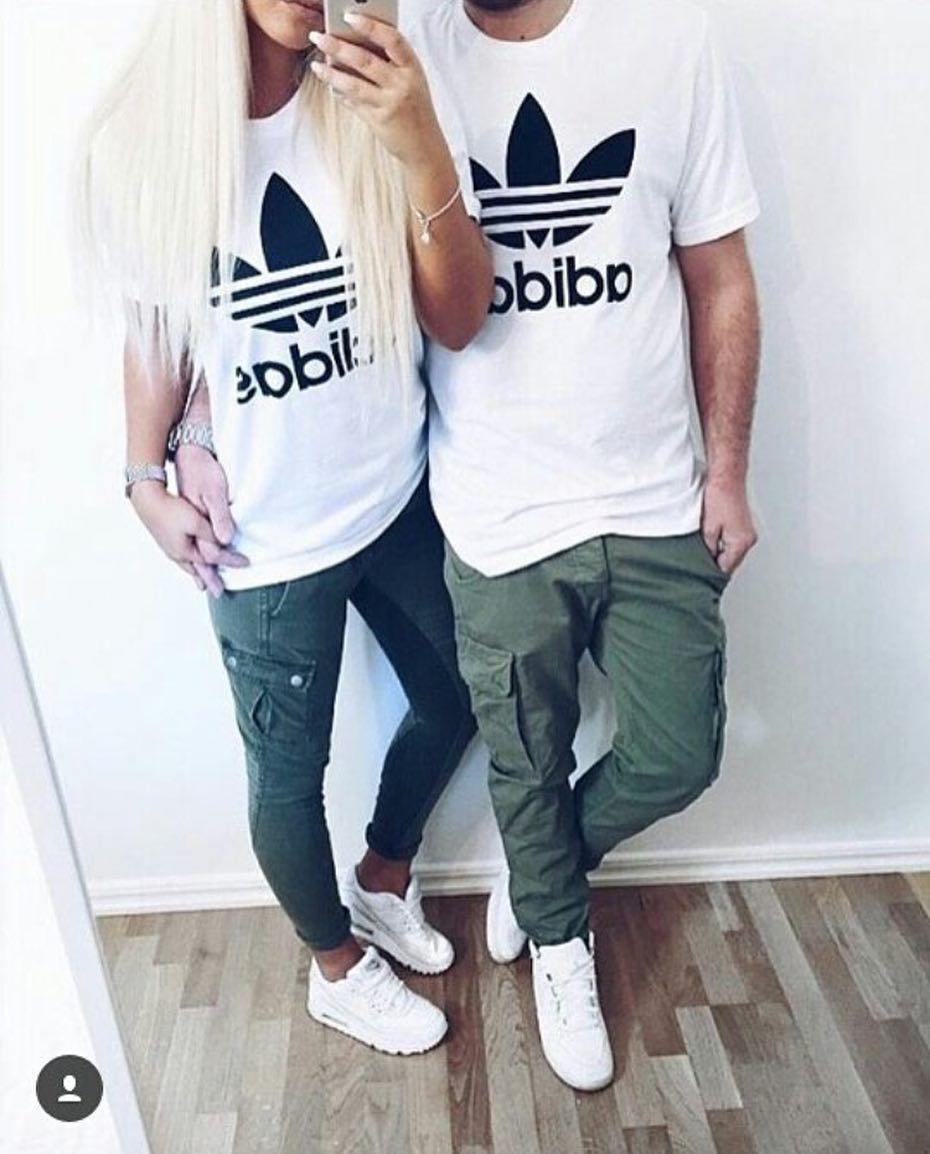 Matching adidas outfits for couples
