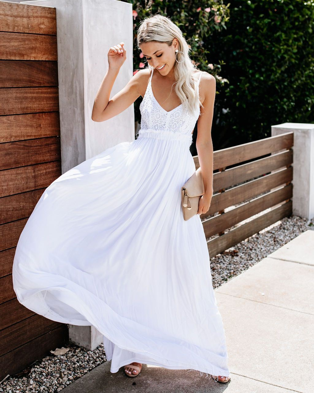White outfit ideas with bridal party dress, bridal clothing, cocktail dress