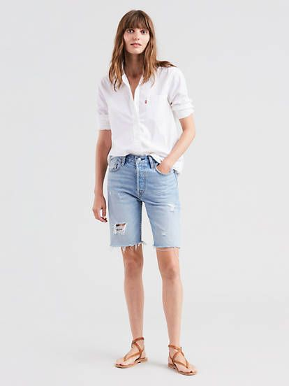 White and blue vogue ideas with bermuda shorts, shorts, jeans