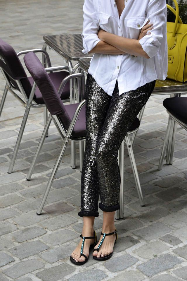 Purple colour ideas with trousers, leggings, tights