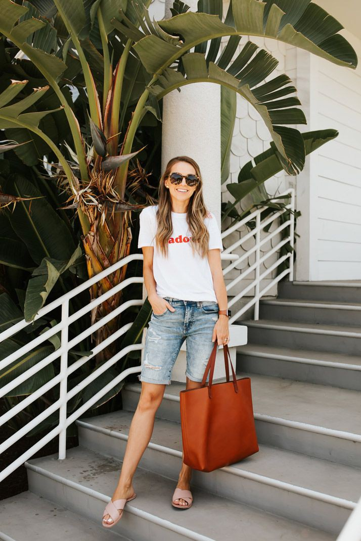 Bermuda shorts outfit ideas women