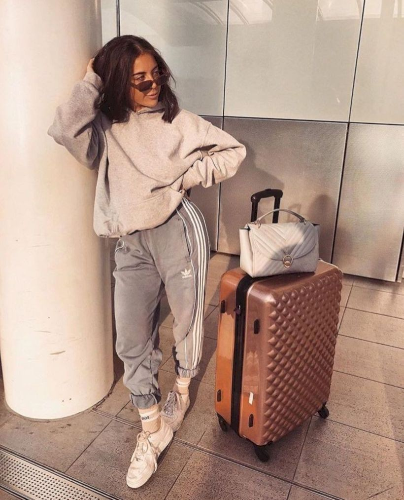 Style outfit airport outfits, hand luggage, style style, cruise ship