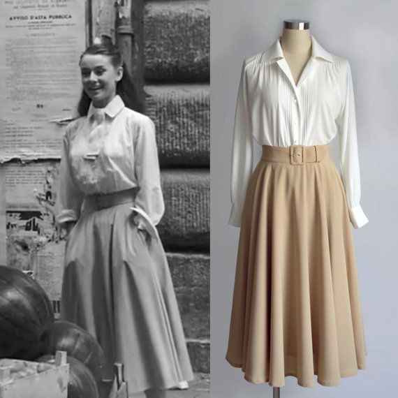 Audrey hepburn roman holiday blouse