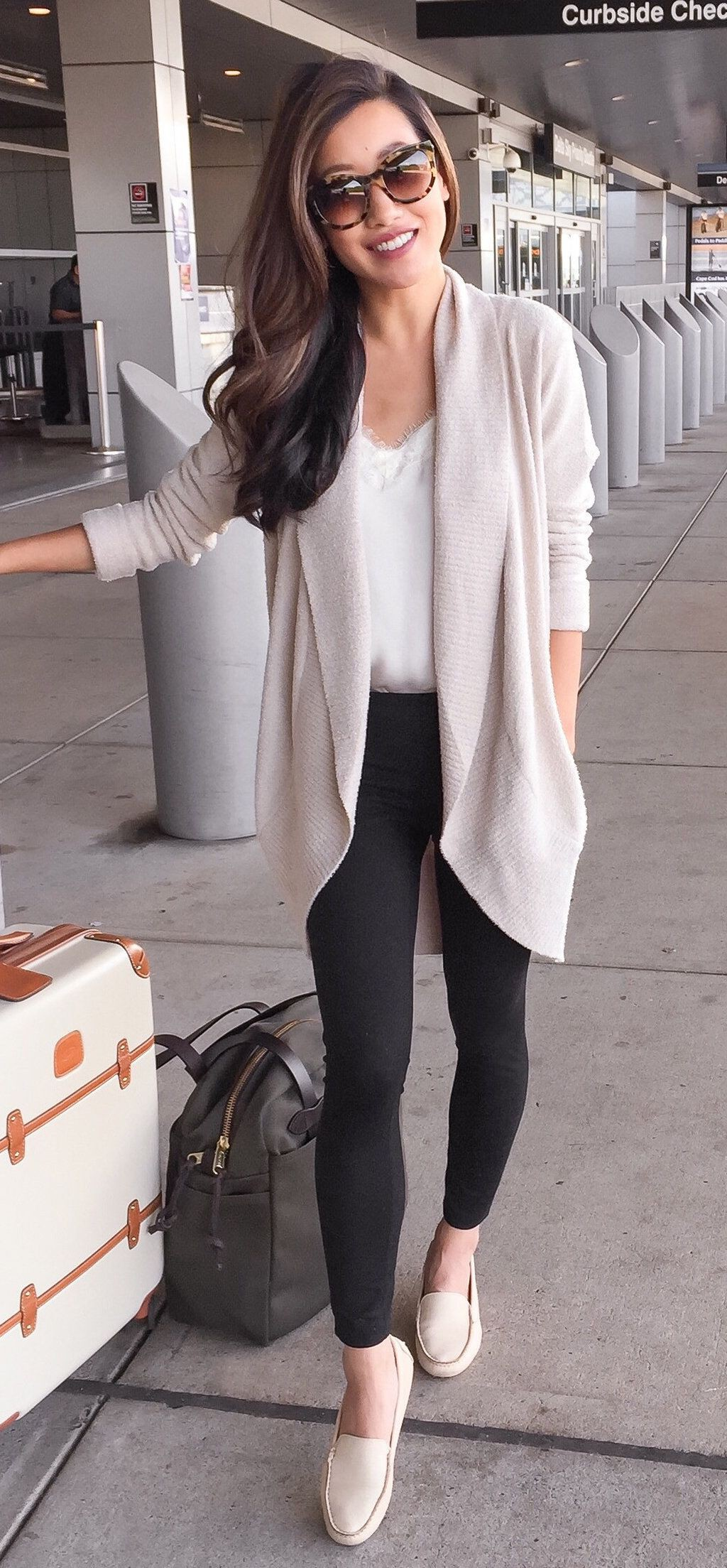 Airport outfits summer women, street fashion