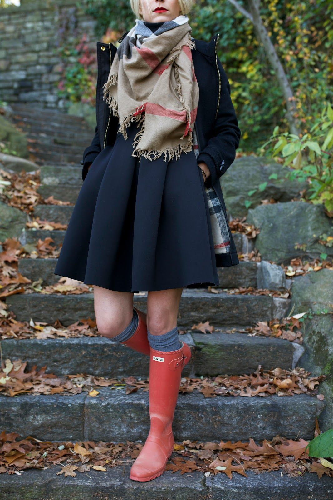 Brown and red colour outfit, you must try with little black dress, little black dress, trousers, ...