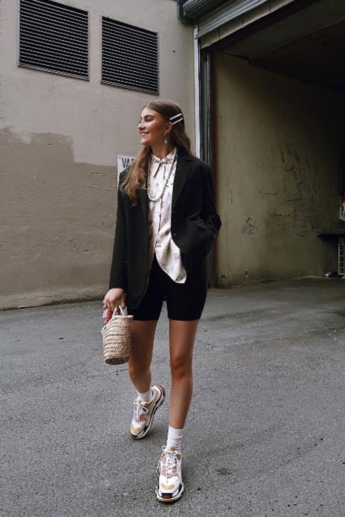 Balenciaga triple s outfit women