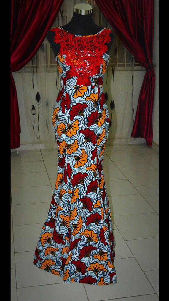 African print dinner dresses african wax prints, fashion design