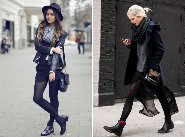 Flat chelsea boots outfit, street fashion, fashion boot, chelsea boot