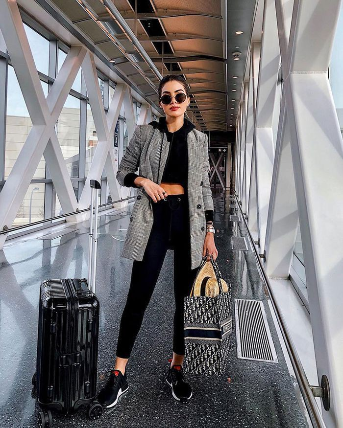 Airport outfits for girls who what wear, fashion design