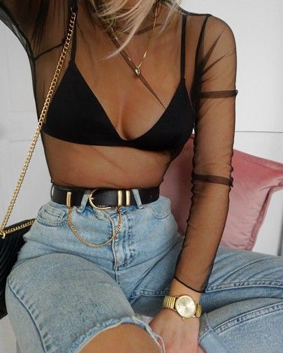 Colour outfit ideas 2020 with swimsuit, crop top, shorts