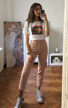 Beige and white clothing ideas with sportswear, trousers, sweater